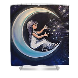 Celestial Games Shower Curtain