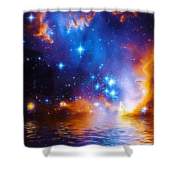 Stars As Diamonds Shower Curtain