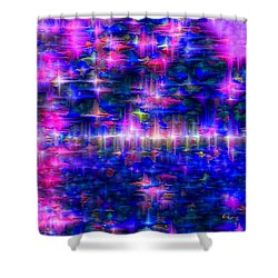 Star Gardens Shower Curtain