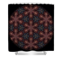 Star Octopus Mandala Shower Curtain by Karen Buford