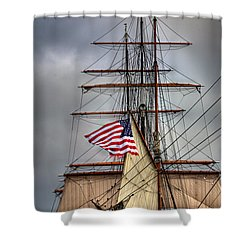 Star Of India Stars And Stripes Shower Curtain