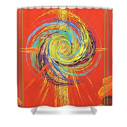 Star Of Splendor Shower Curtain