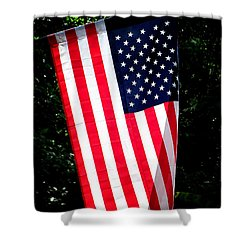 Star Spangled Banner Shower Curtain by Greg Simmons