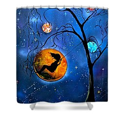 Star Swing Shower Curtain