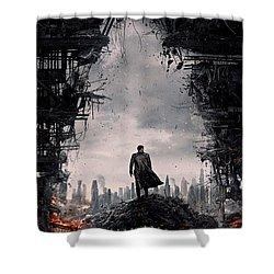 Star Trek Into Darkness  Shower Curtain by Movie Poster Prints