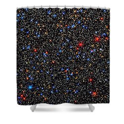 Star Wall Shower Curtain