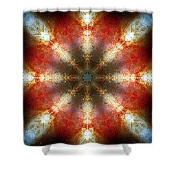 Starburst Galaxy M82 II Shower Curtain