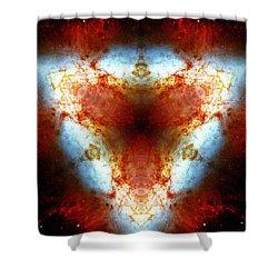 Starburst Galaxy M82 Vi Shower Curtain
