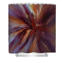 Starburst Shower Curtain by Valerie Travers