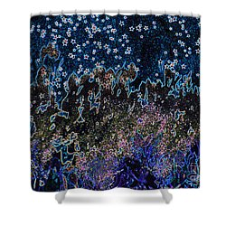 Stardust By Jrr Shower Curtain by First Star Art