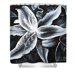 Stargazer Lilly Shower Curtain