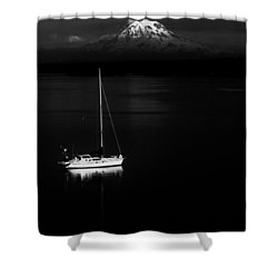 Stark Sail Shower Curtain by Benjamin Yeager