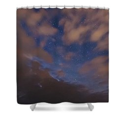 Shower Curtain featuring the photograph Starlight Skyscape by Marty Saccone