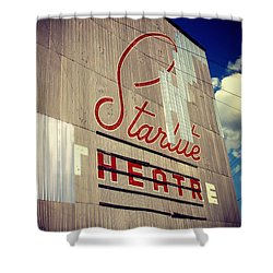 Starlite  Shower Curtain by Trish Mistric