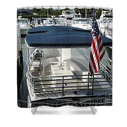 Shower Curtain featuring the photograph Stars And Stripes by Janette Boyd