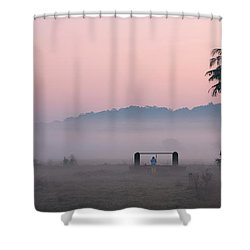 Start Shower Curtain by Dattaram Gawade
