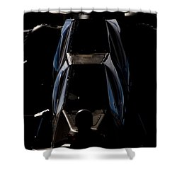 Starting Up Shower Curtain by Paul Job