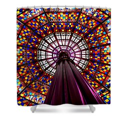 State House Dome Shower Curtain