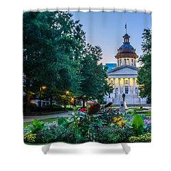 State House Garden Shower Curtain