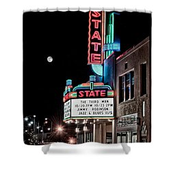 State Theater Shower Curtain by Jim Thompson