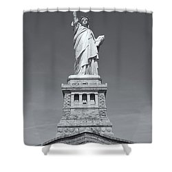 Statue Of Liberty IIi Shower Curtain by Clarence Holmes