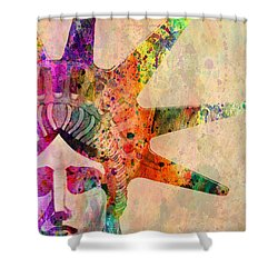 Statue Of Liberty  Shower Curtain by Mark Ashkenazi