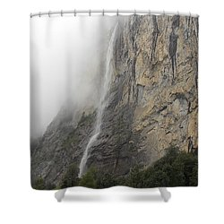 Staubbach Falls Shower Curtain