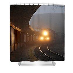 Staunton Virgina Train Shower Curtain