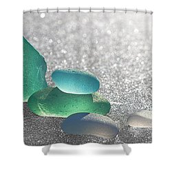 Stay Close Shower Curtain by Barbara McMahon