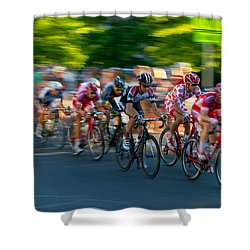 Stay Focused Shower Curtain