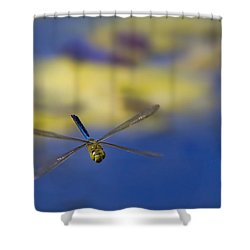 Shower Curtain featuring the photograph Stealth Chopper by Gary Holmes