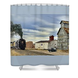 Steam In Castle Rock Shower Curtain