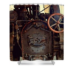 Steam Power Shower Curtain