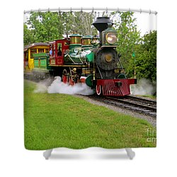 Steam Train Shower Curtain