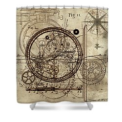Steampunk Dream Series IIi Shower Curtain