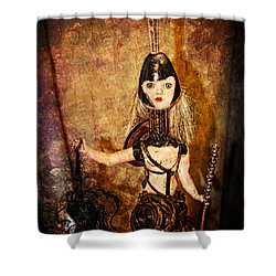 Steampunk - The Headhunter Shower Curtain by Paul Ward