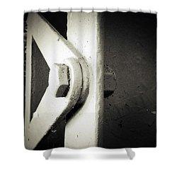 Steel Girder Shower Curtain