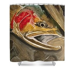 Steelhead Buck Shower Curtain