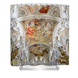 Steingaden Abbey Shower Curtain