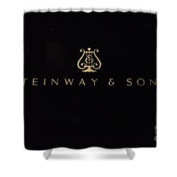 Steinway And Sons Shower Curtain by David Bearden