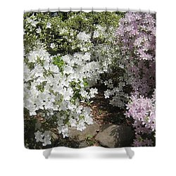 Step Into Spring Shower Curtain