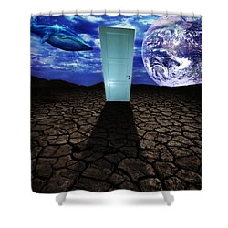 Step Into The Dream Shower Curtain