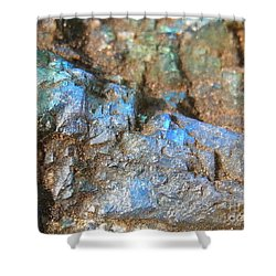 Step To Bliss Shower Curtain
