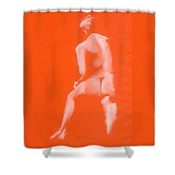 Step Up Ett Fotsteg Upp Shower Curtain