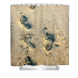 Steps Shower Curtain by Menachem Ganon