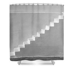 Steps To Heaven Shower Curtain by Ana Maria Edulescu