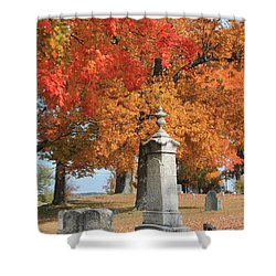Sterling Ma Burial Ground Shower Curtain