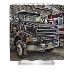 Sterling Truck Shower Curtain by Douglas Barnard