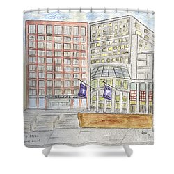 Nyu Stern School Of Business Shower Curtain