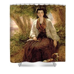 Sternes Maria, From A Sentimental Shower Curtain by William Powell Frith
